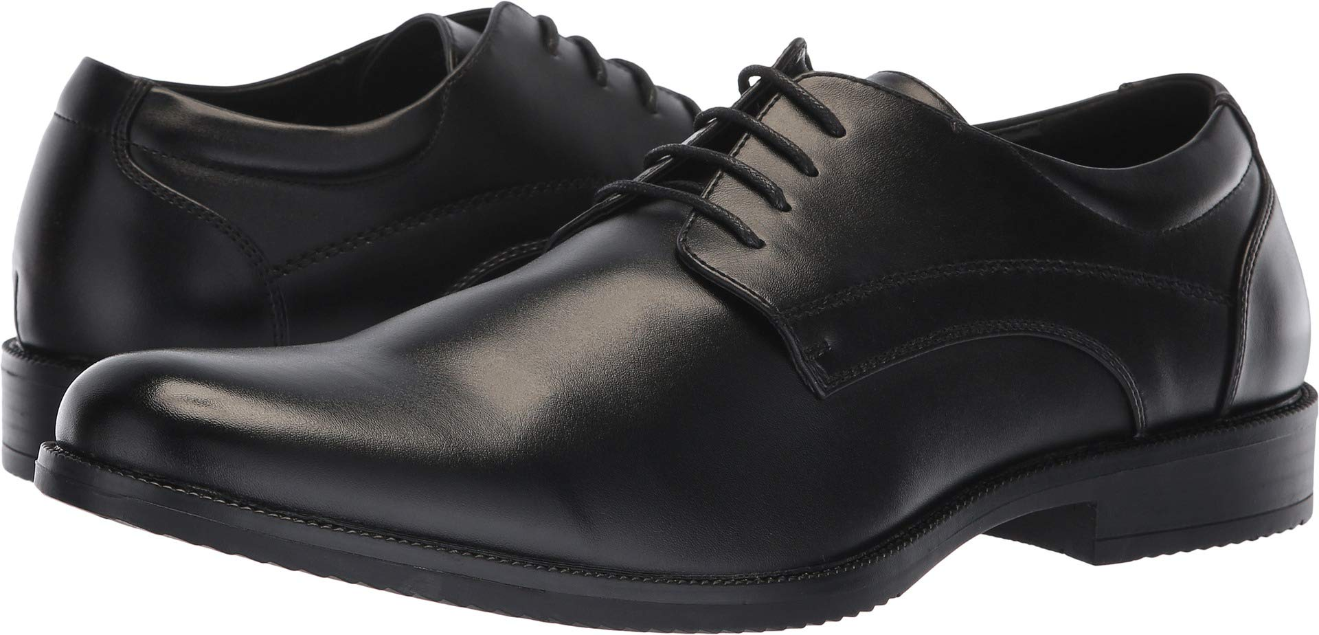 Van Heusen Men's Larry Black Oxford Dress Shoes