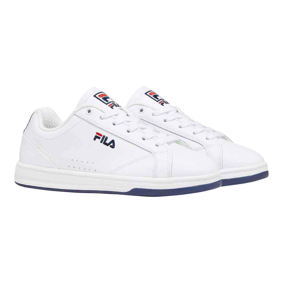 fila casual shoes white