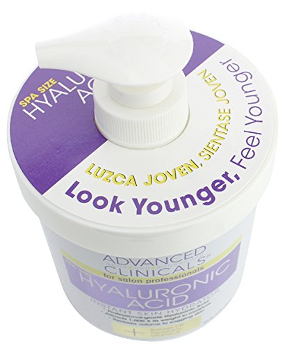 Advanced-Clinicals-Spa-Size-Hyaluronic-Acid-Cream-Skin-Hydrating-16-Oz-454g thumbnail 5