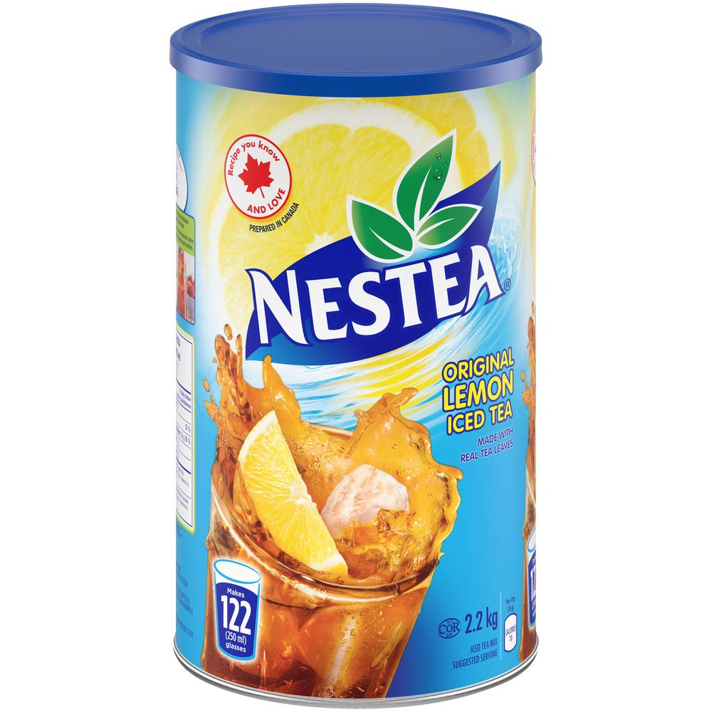 Nestea Original Lemon Iced Tea 2 2kg 4 9 Lb Can Imported From Canada 55000025416 Ebay