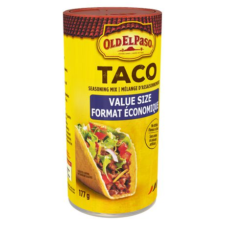 Old El Paso Taco Seasoning Mix Original Value Size 177g 6 2oz Canadian Ebay