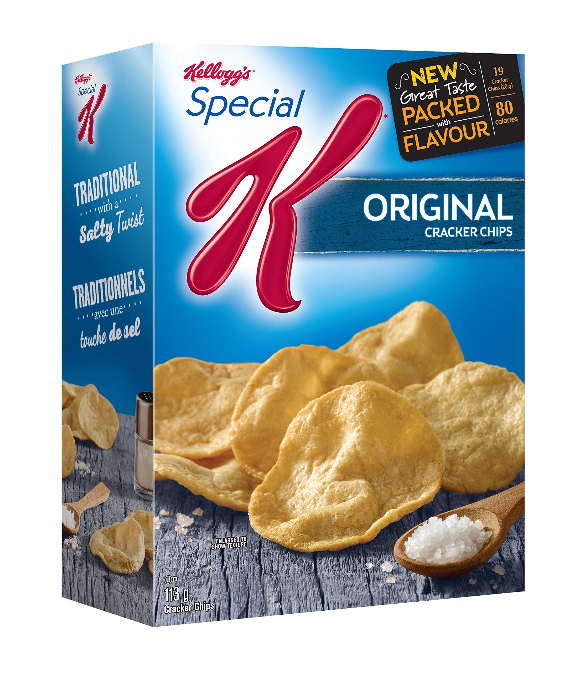 Kellogg's Special K Cracker Chips Original 113g/3.98oz {Impo