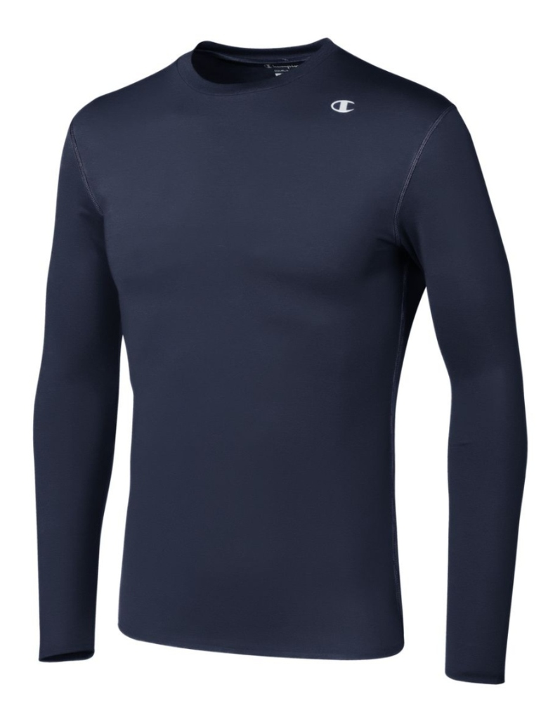 Champion-Men-039-s-Double-Dry-Compression-T-Shirt-Long-Sleeve-Athletic-Baselayer-Tee thumbnail 8