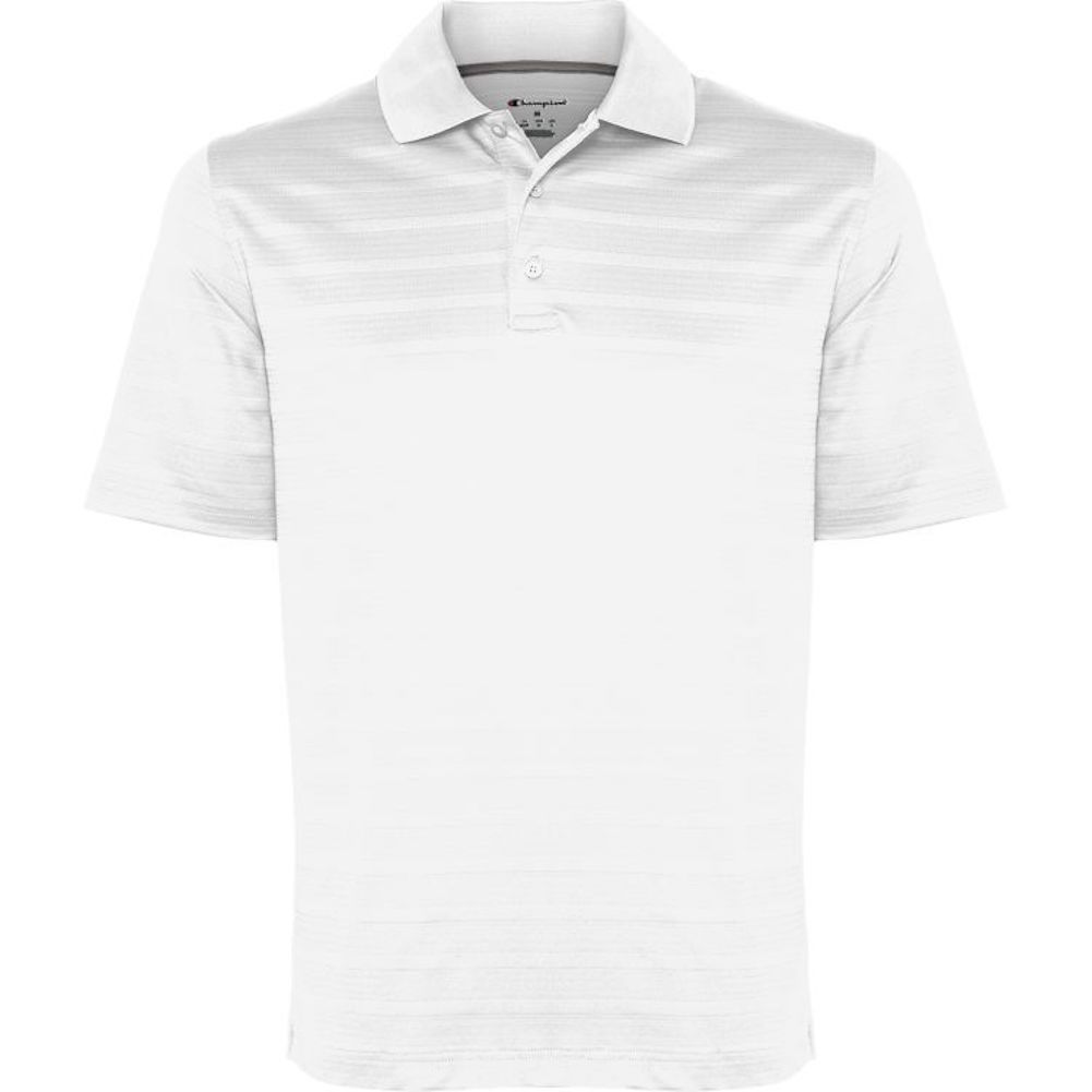 Champion-Men-039-s-Textured-Stripe-Polo-Athletic-Casual-Loose-Fit-Golf-T-Shirt thumbnail 15