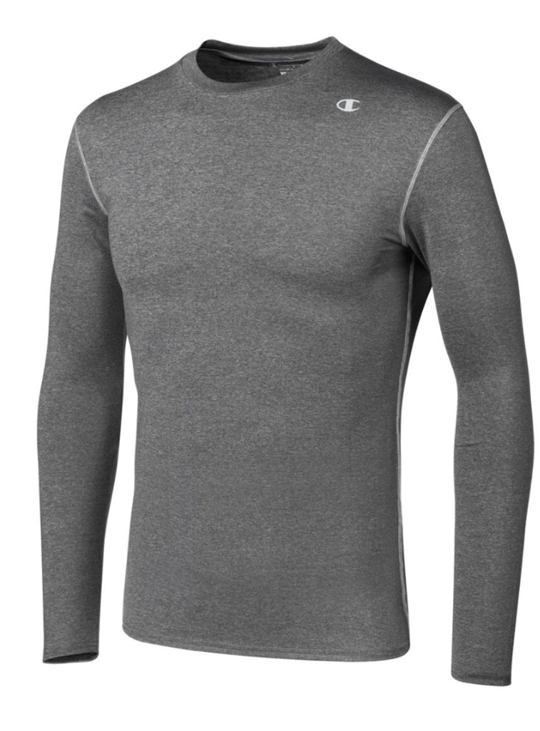 Champion-Men-039-s-Double-Dry-Compression-T-Shirt-Long-Sleeve-Athletic-Baselayer-Tee thumbnail 10
