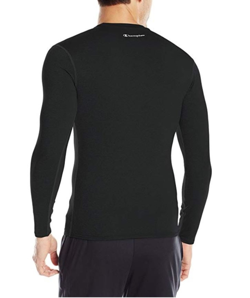 Champion-Men-039-s-Double-Dry-Compression-T-Shirt-Long-Sleeve-Athletic-Baselayer-Tee thumbnail 3