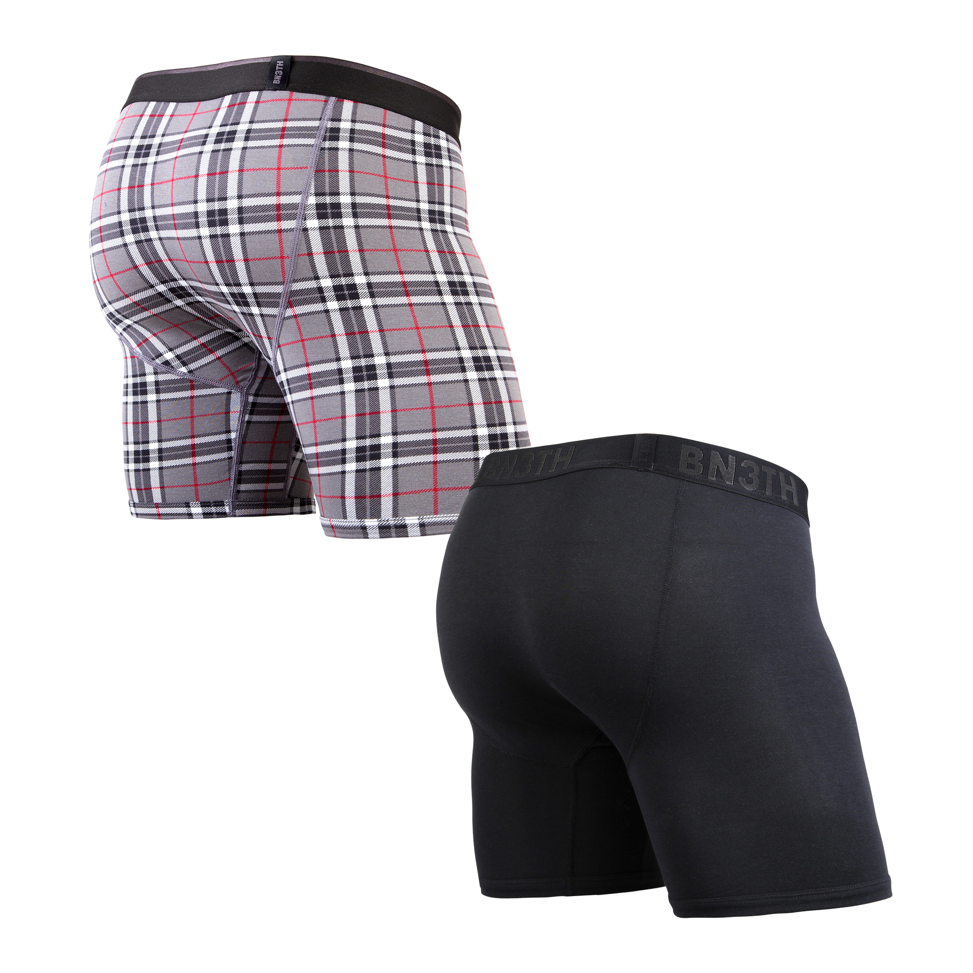 Bn3th Men/'s Classic Boxer Briefs 2 Pack