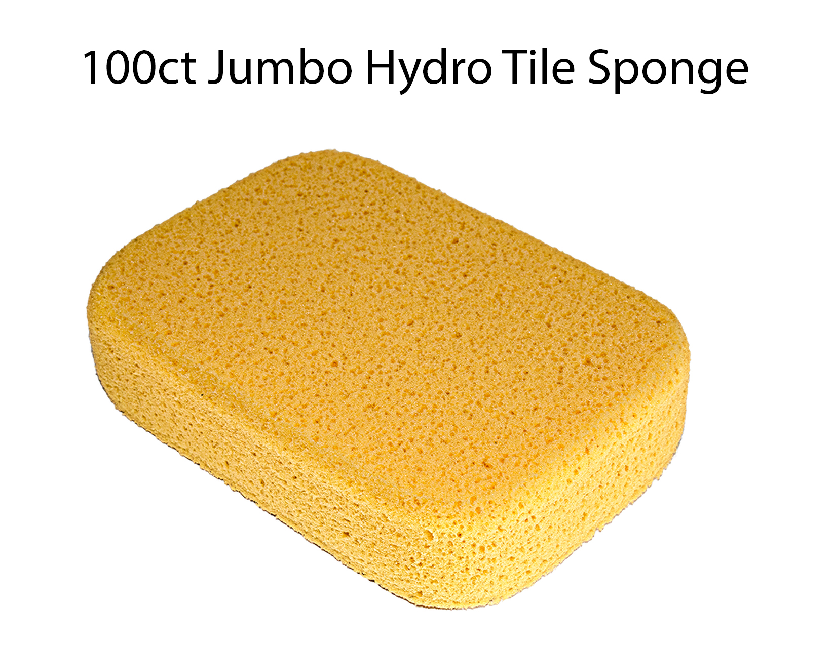 x 5-1//2 in x 1-7//8 in 3 Pack X Large Grouting Cleaning Washing Sponge 7-1//2 in
