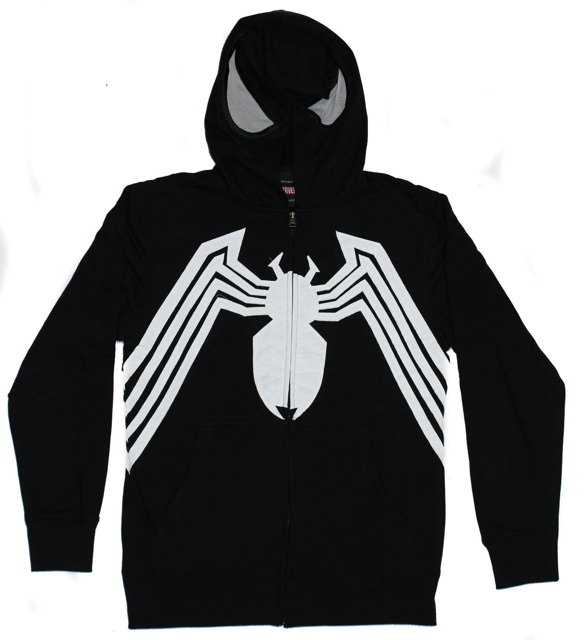 Details Costume Zip Up About Venommarvel ComicsMens Hoodie Front Open Hood Image H29IYDWE