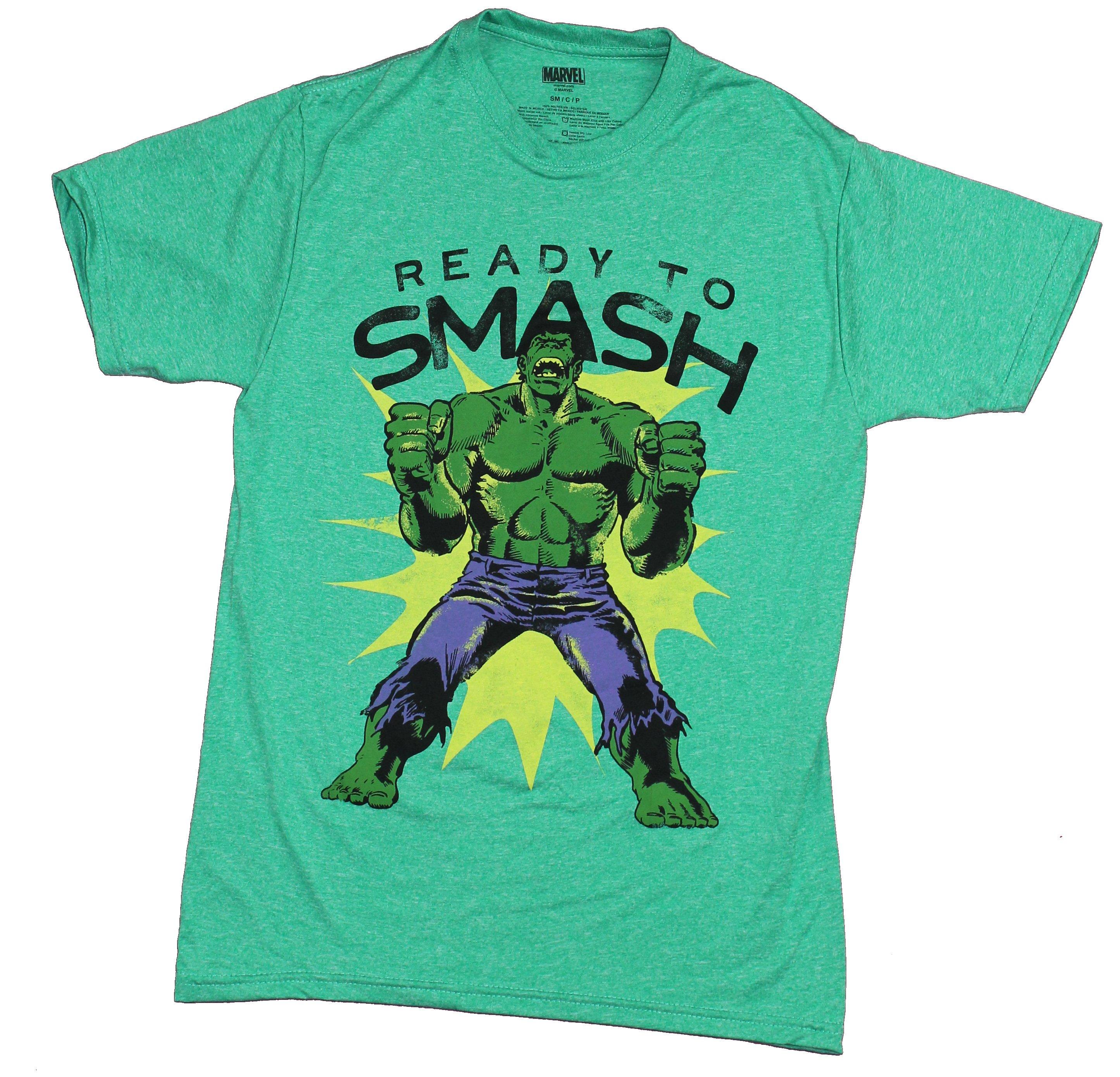 Hulk Mens T Shirt Moisture Wicking Ready To Smash Ebay