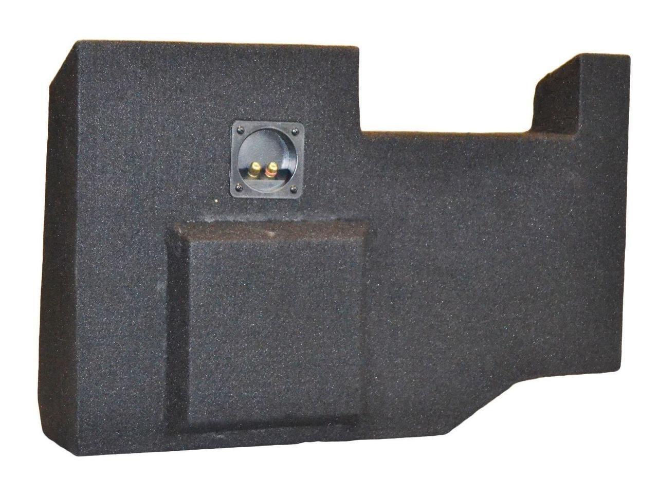SoundBox Chevy Silverado// GMC Sierra Crew Cab Single 12 Subwoofer Enclosure Sub Box 2014-2018