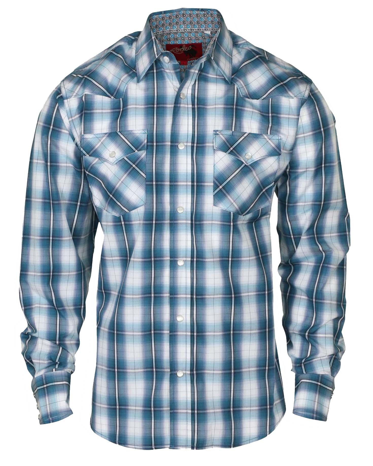 Short Sleeve Plaid Dress Shirt
