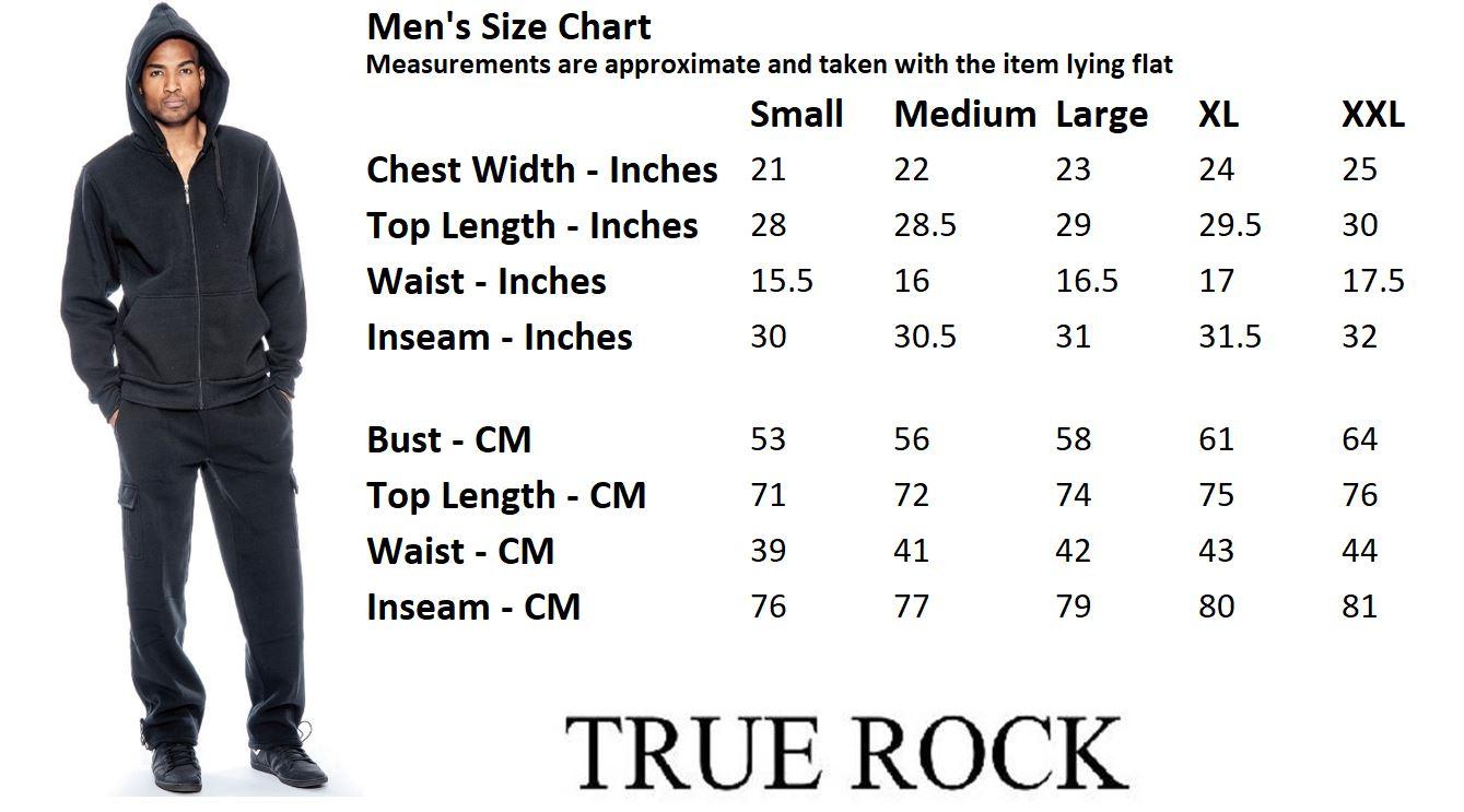 9 Crowns TR Mens Lightweight Fleece Hoodie Sweatsuit Essentials