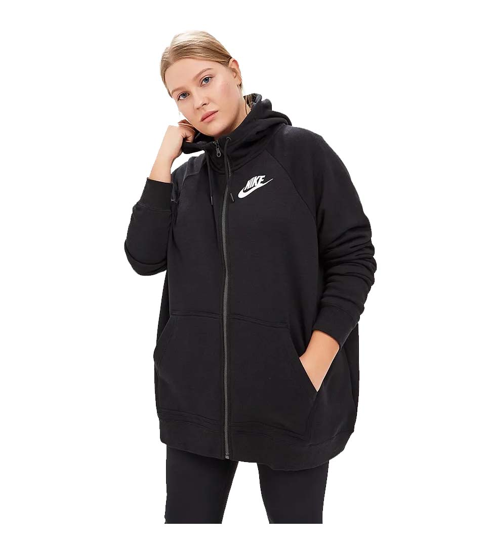 Details about Nike Women's Plus Rally Sport Casual Hoodie