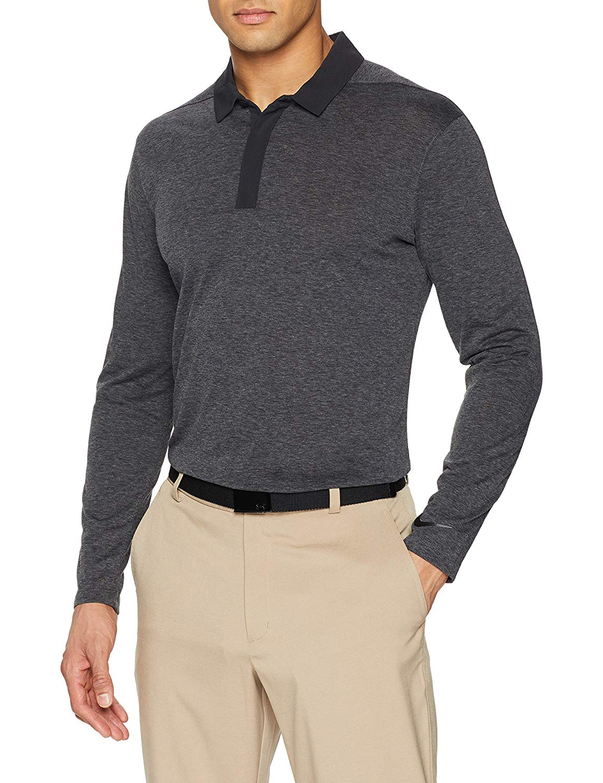 Nike-Men-039-s-Dri-Fit-Long-Sleeve-Golf-Polo thumbnail 2