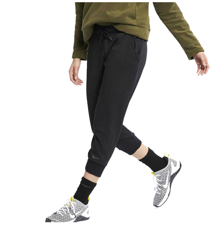 Nike Women's Dri Fit Loose Fit Training Crop Pants