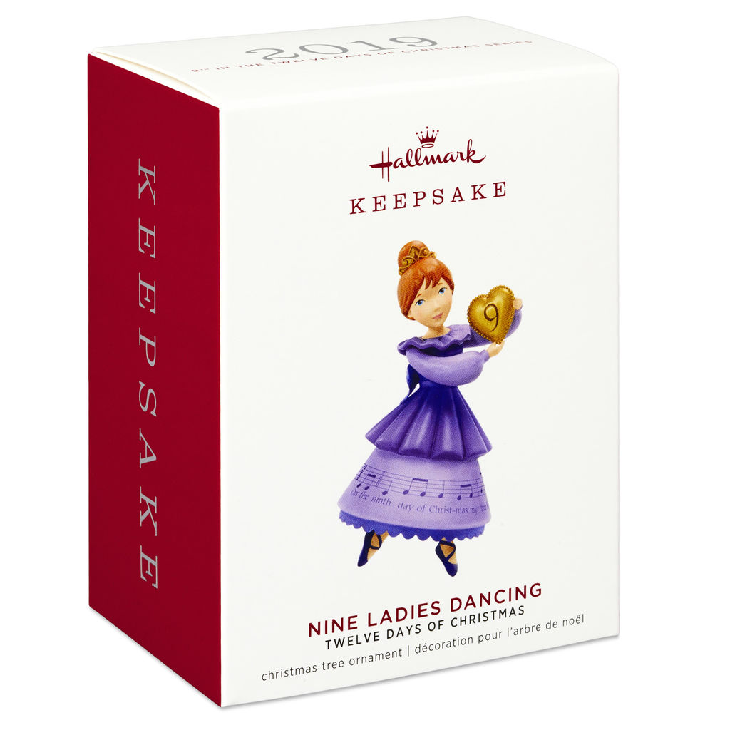 Twelve Days Of Christmas Notes.Details About Hallmark Keepsake 2019 Twelve Days Of Christmas Nine Ladies Dancing Ornament