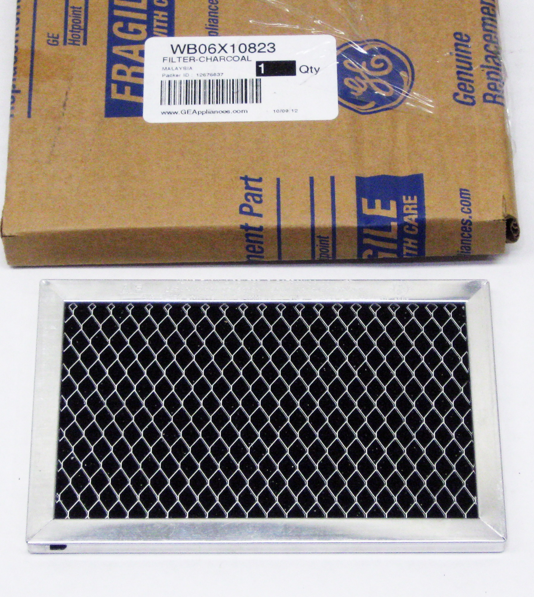 Ge Microwave Charcoal Filter Wb06x10823 Ap4484097