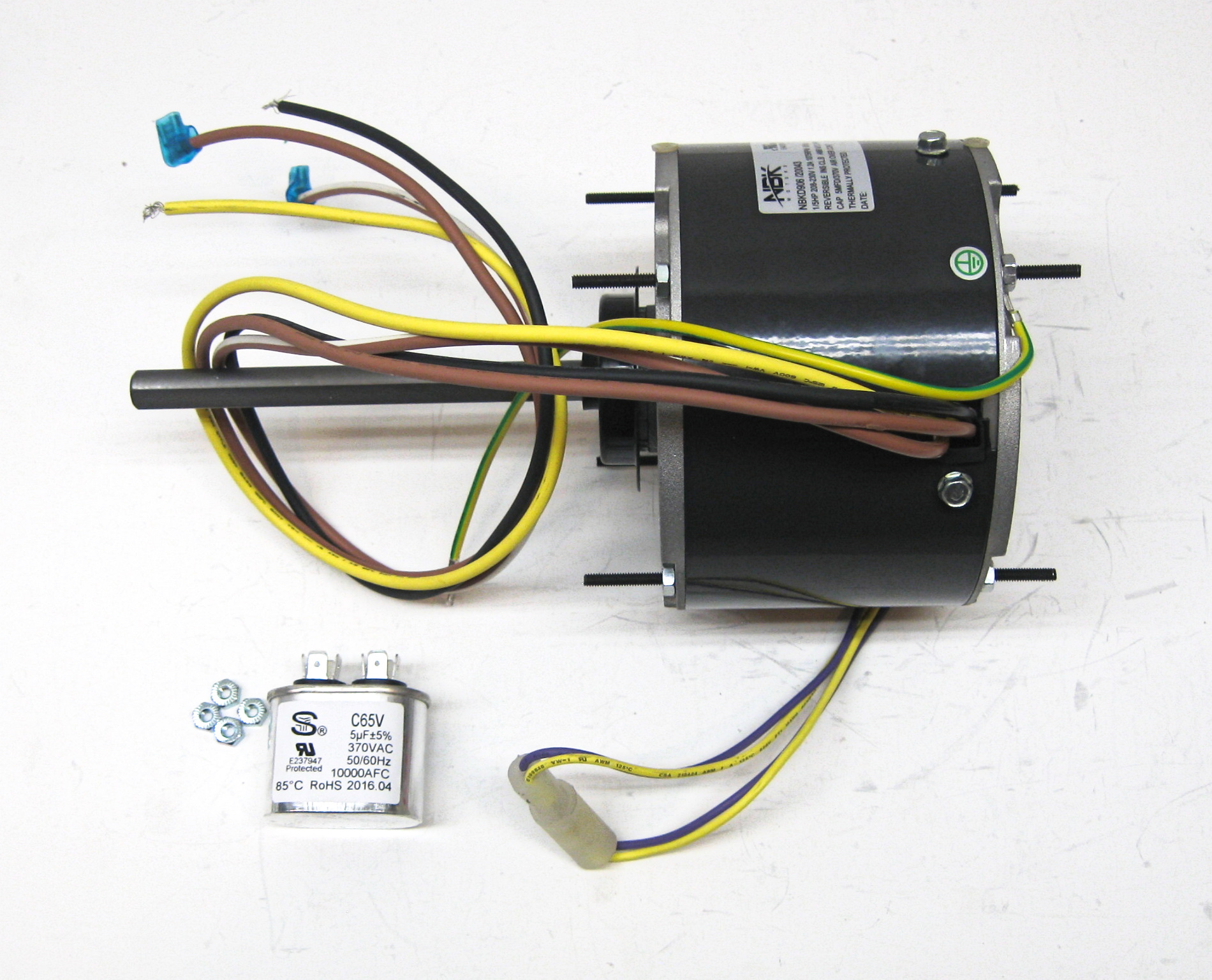 Ac Condenser Fan Motor Wiring Diagram from images.zentail.com