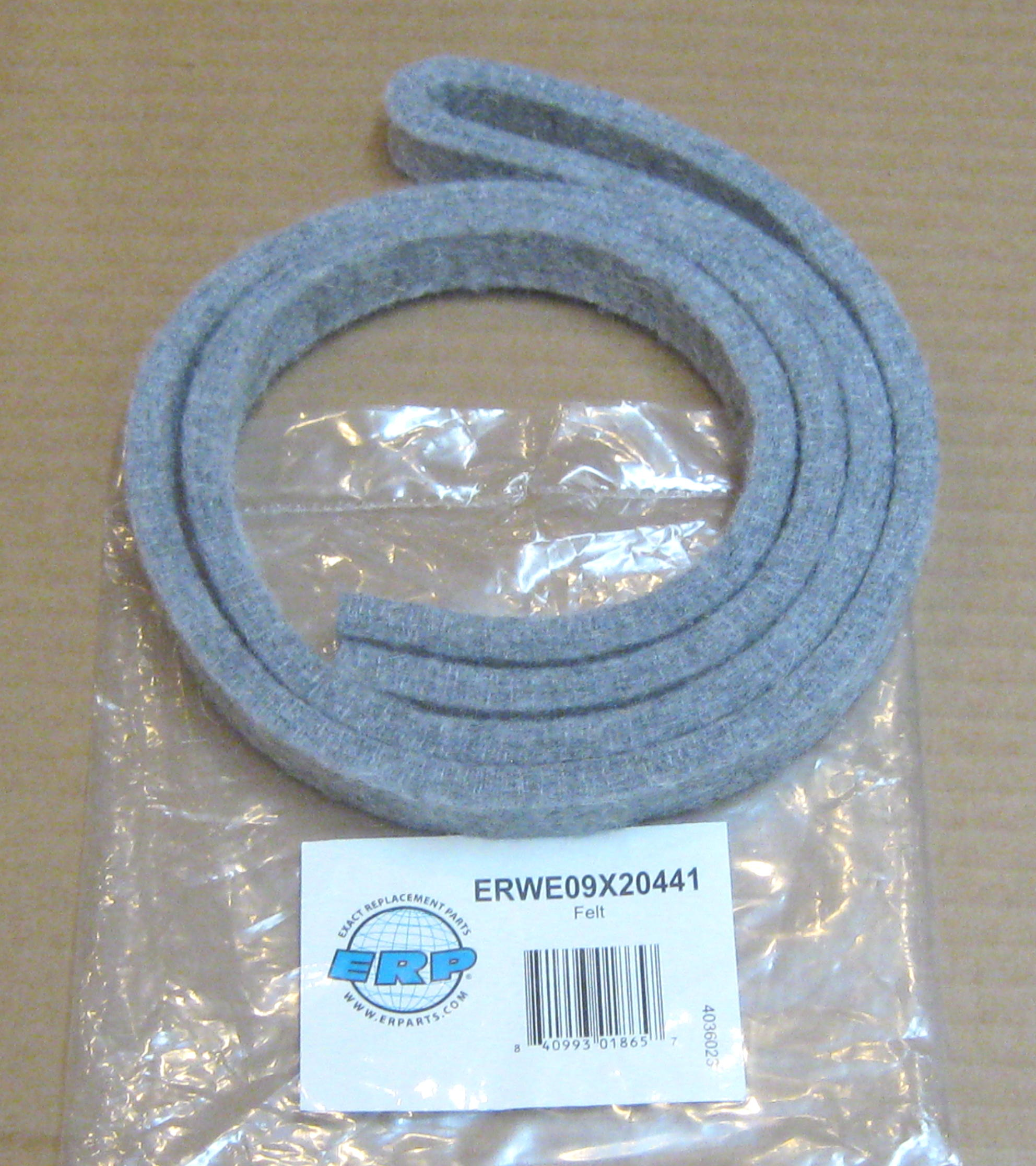 OEM GE WE09X20441 Dryer Felt Trap Duct