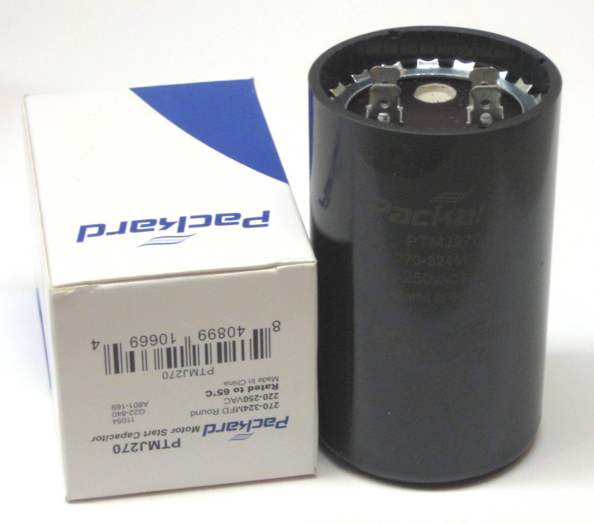 Packard PRMJ270 Motor Start Capacitor 270-324 MFD 330 VAC