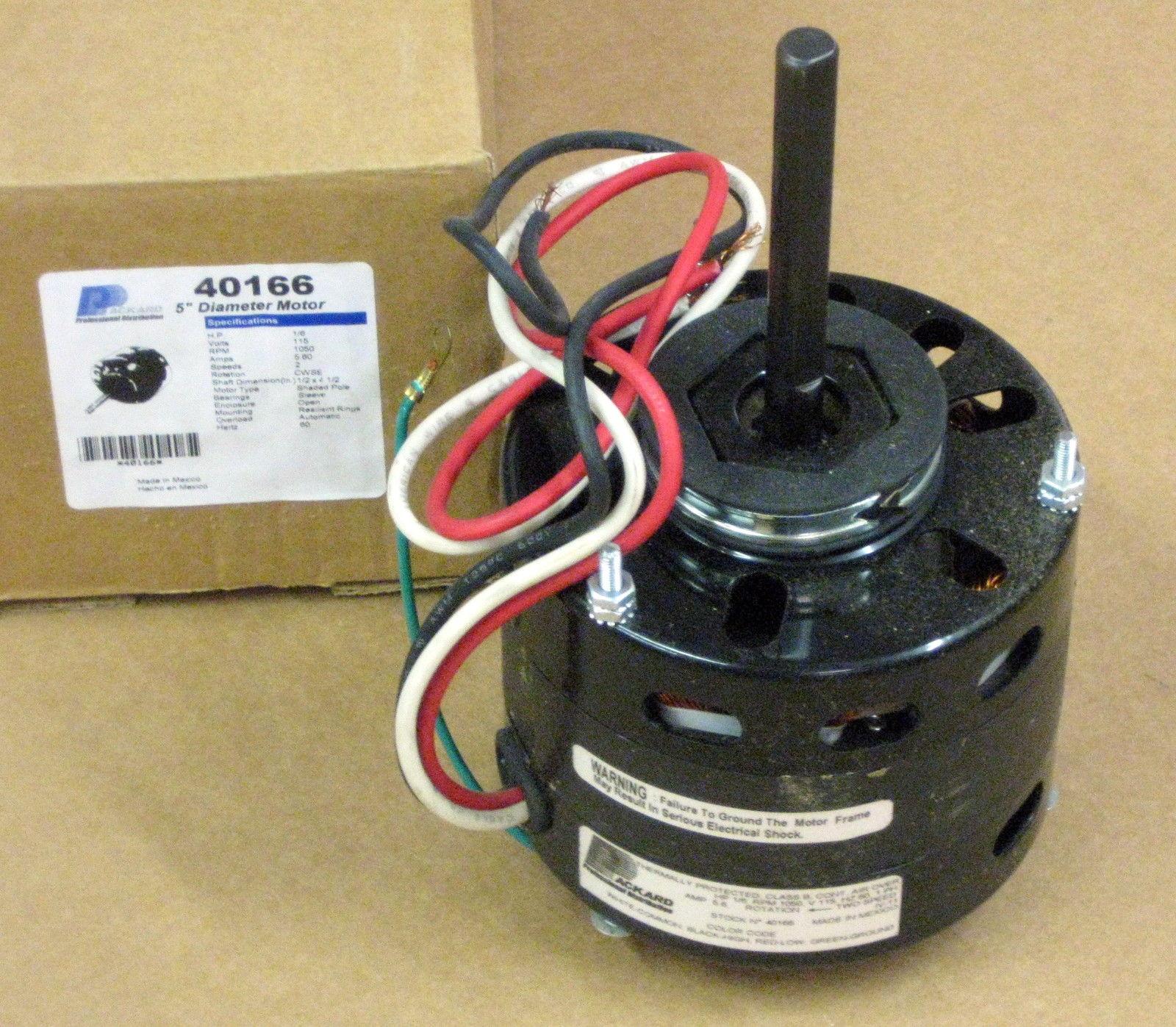 40166 1  6 Hp Motor For Fasco D166 Nordyne Miller 304418165