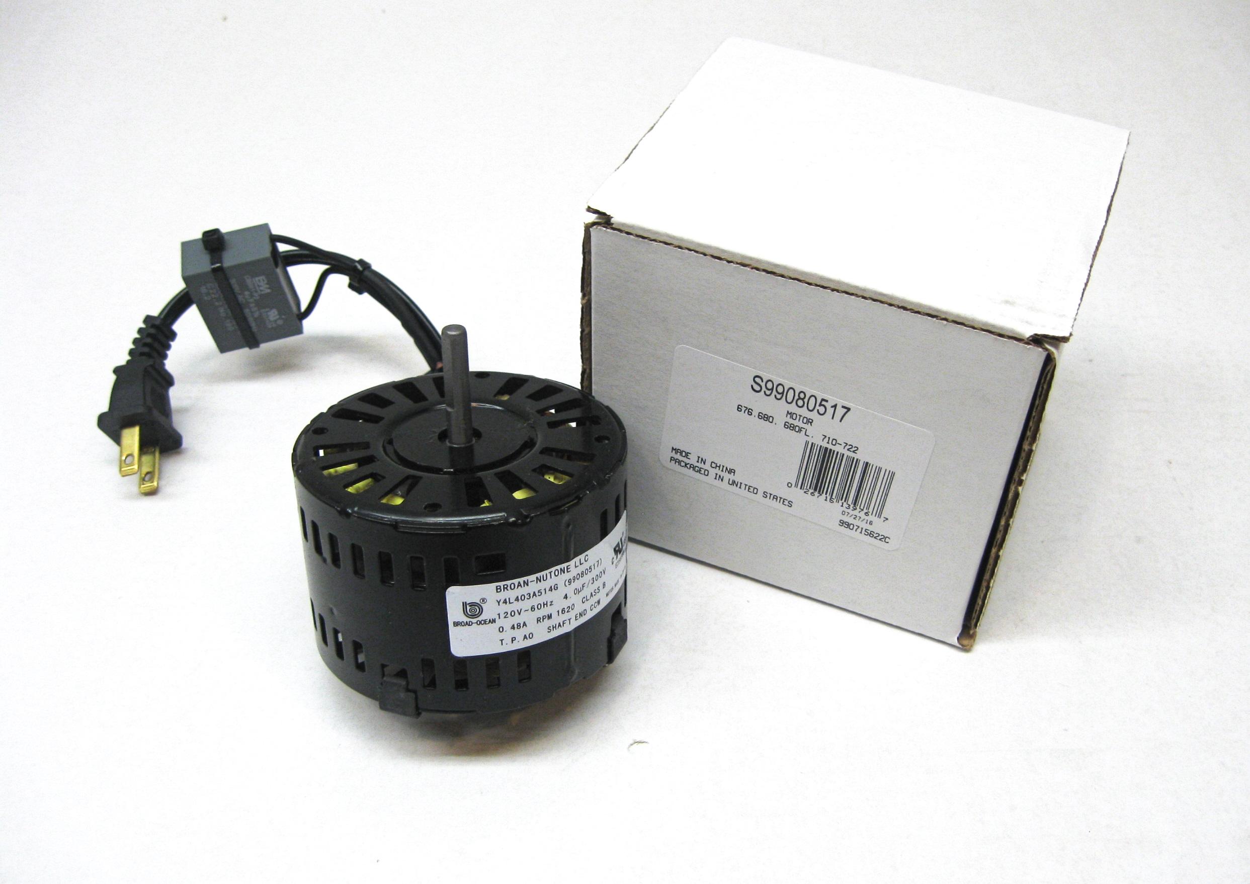 Broan 99080517 Fan Motor