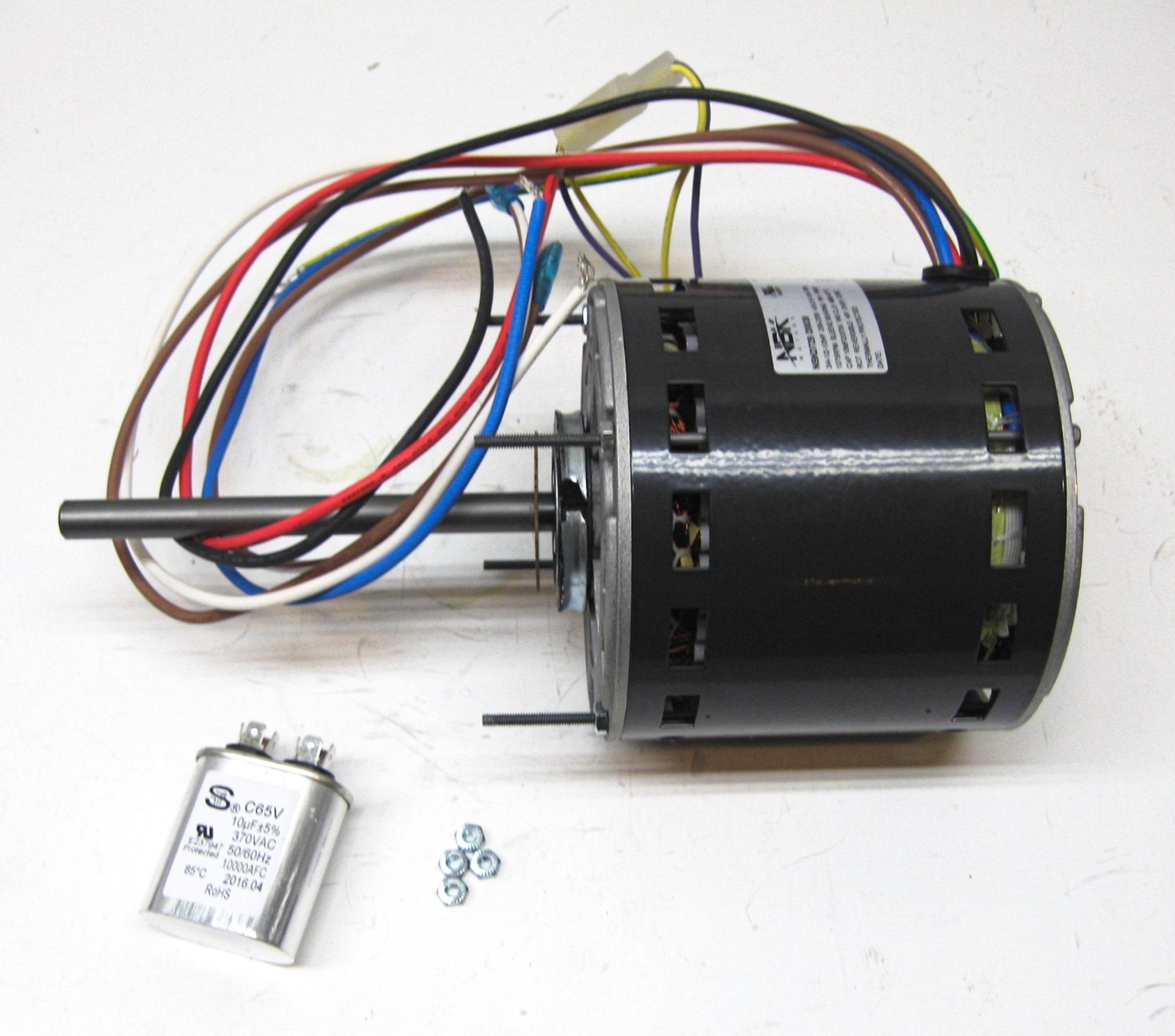 Furnace Air Handler Blower Motor 3  4 Hp 1075 Rpm 230 Volt 3 Speed For Fasco D729 696524000543