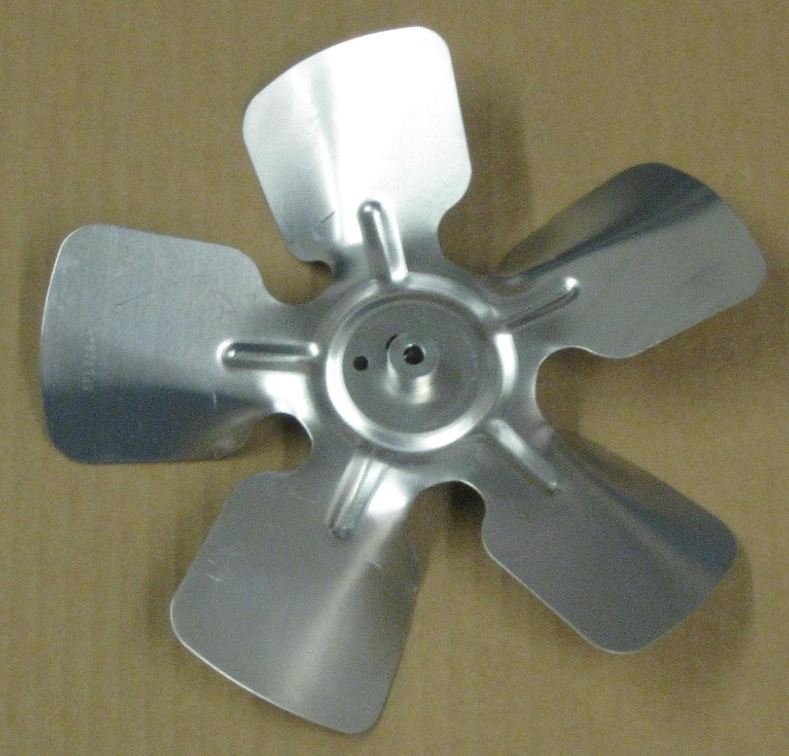 A65926 Metal Fan Blade 9 Quot Diameter 5 Blades 1 4 Quot Bore Hub