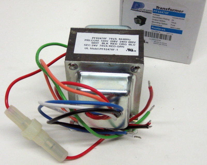 Transformer with wire leads and quick connect universal 24 VAC 40 VA 120//208//240 Volt 60 HZ Primary TP-40VA