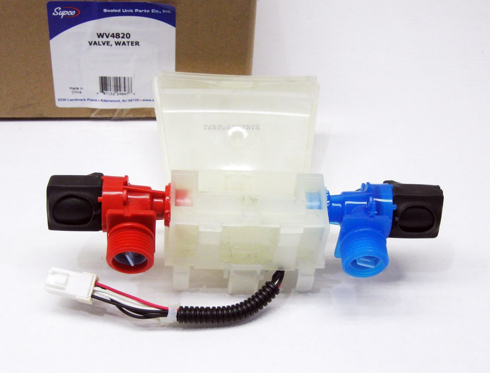 NEW W10144820 Washer Water Valve w//Thermistor for Whirlpool Kenmore