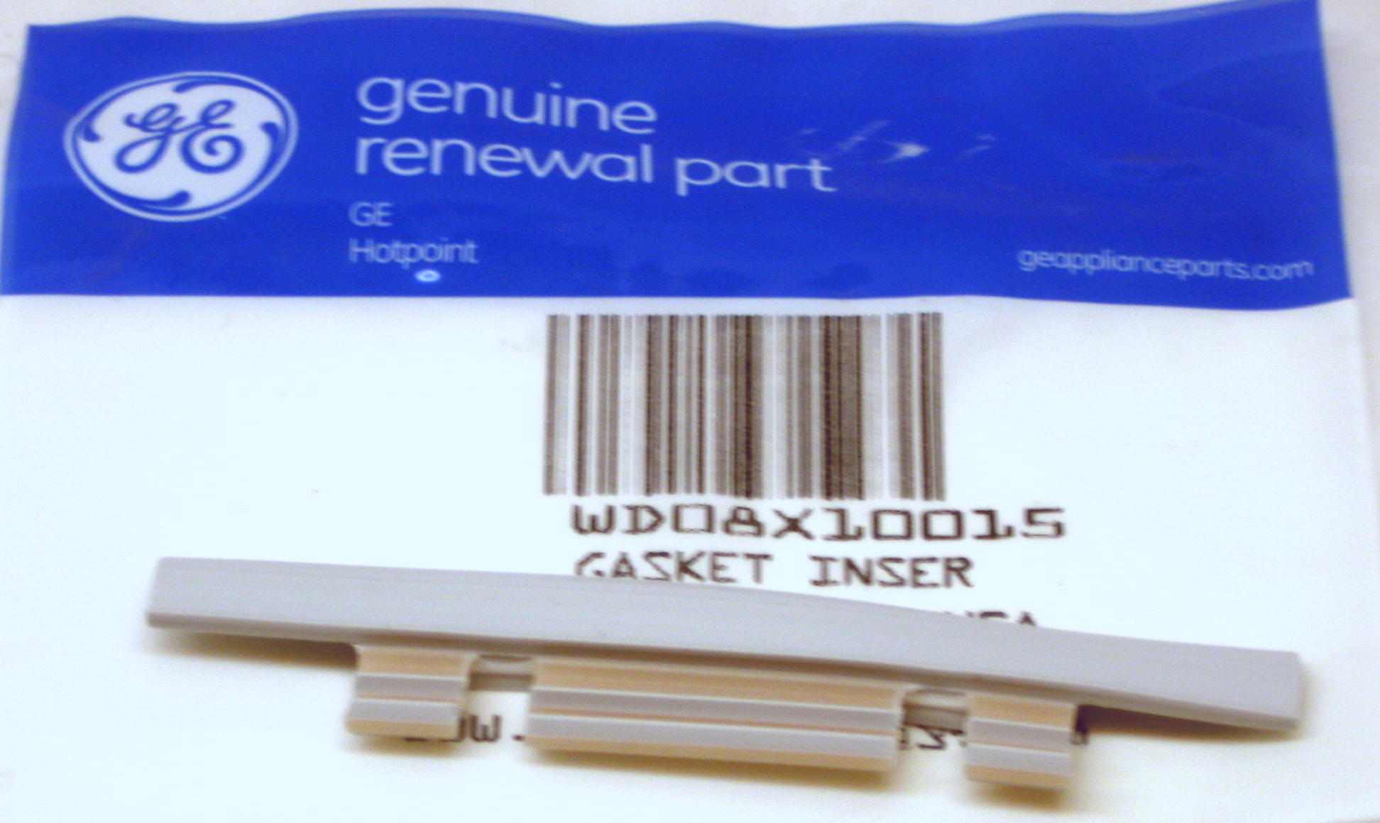 General Electric WD08X10015  Gasket Insert