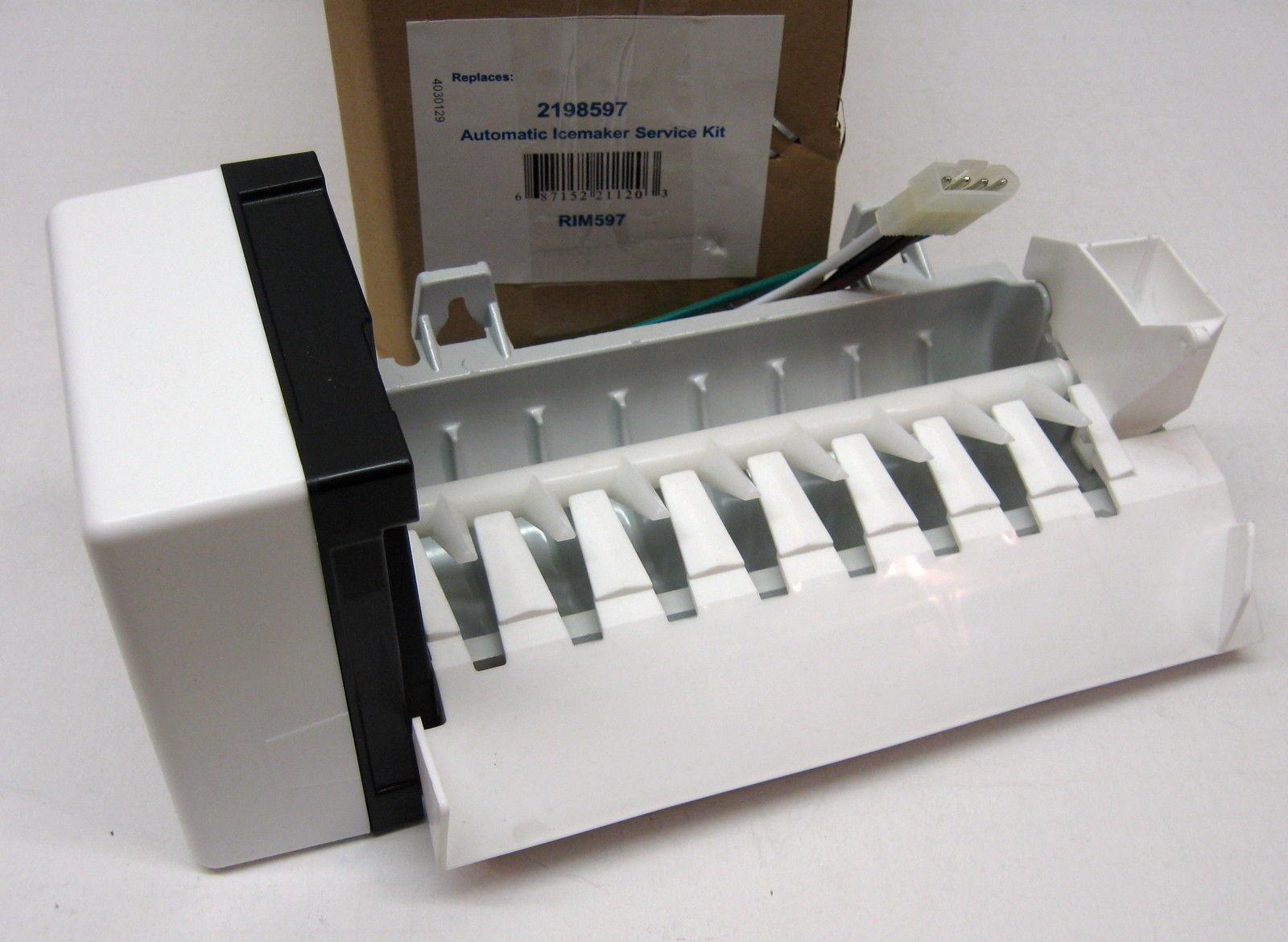 Ice Maker For Whirlpool Kitchenaid 2198597 Refrigerator Icemaker Ap3182733 Ebay