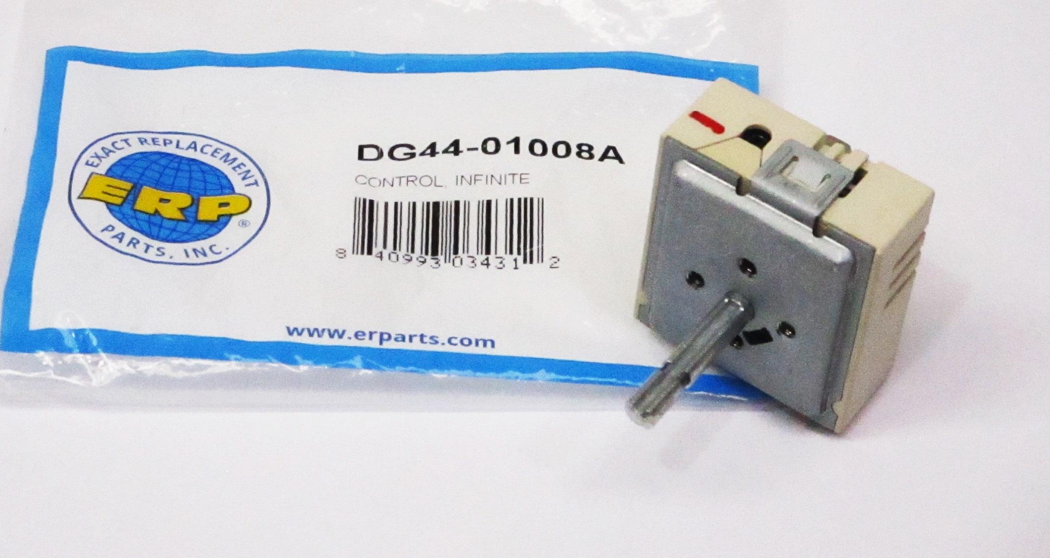 Dg44 01008 For Samsung Range Infinite Burner Switch