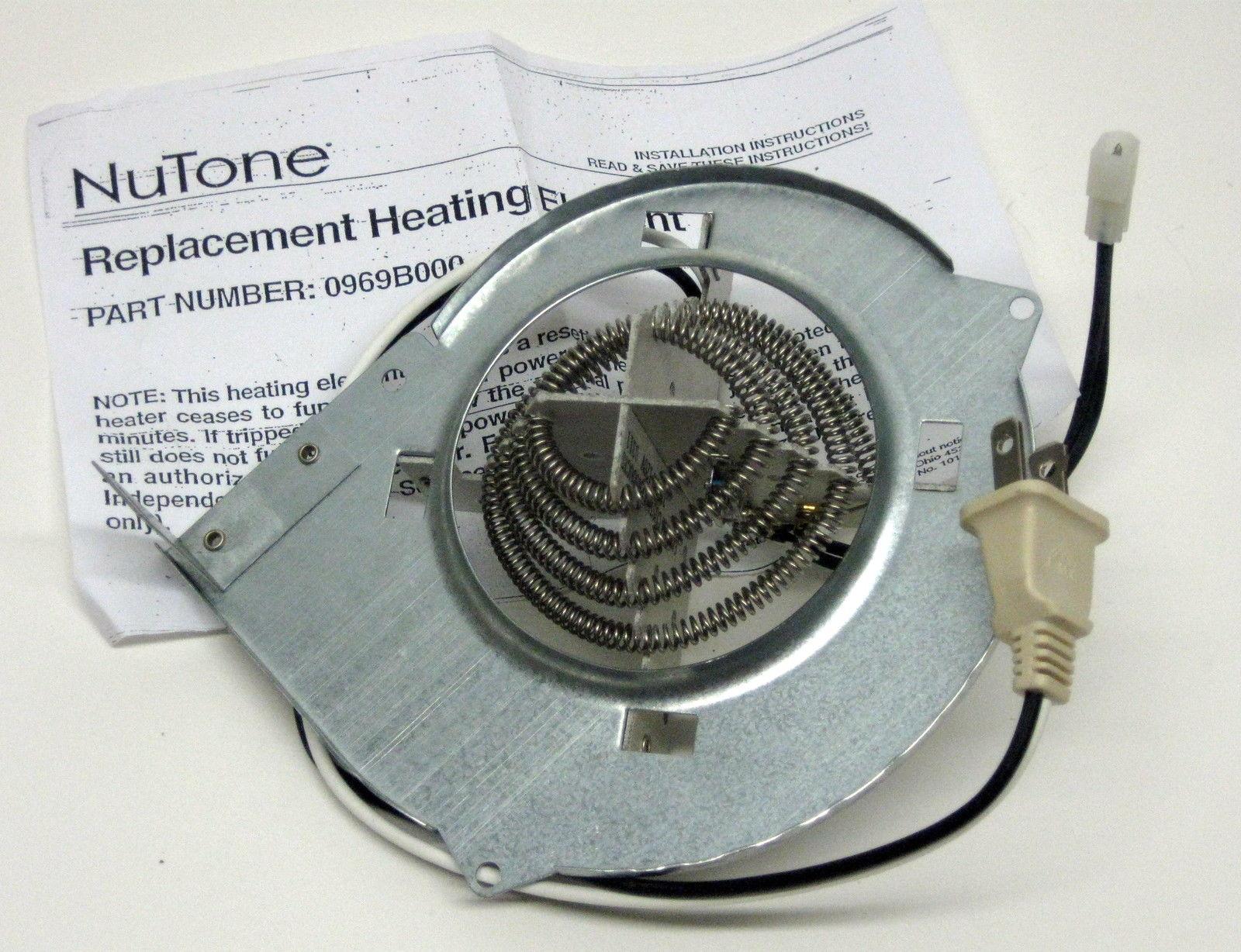Vent Bath Fan Heating Element