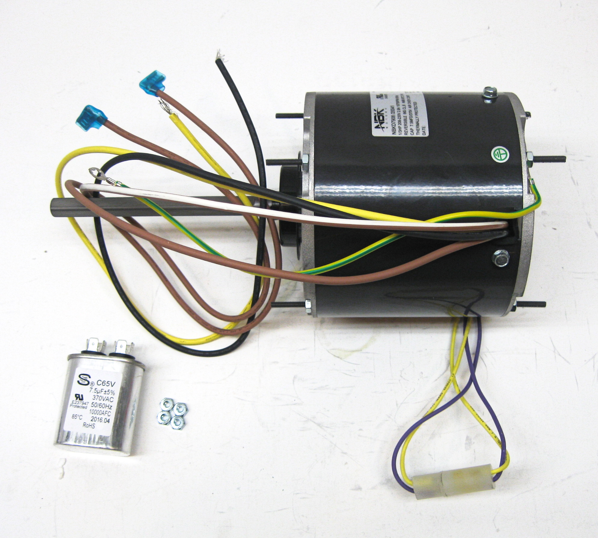 d7908 wiring diagram ac air conditioner condenser fan motor 1 3 hp 1075 rpm 230  ac air conditioner condenser fan motor 1 3 hp 1075 rpm 230
